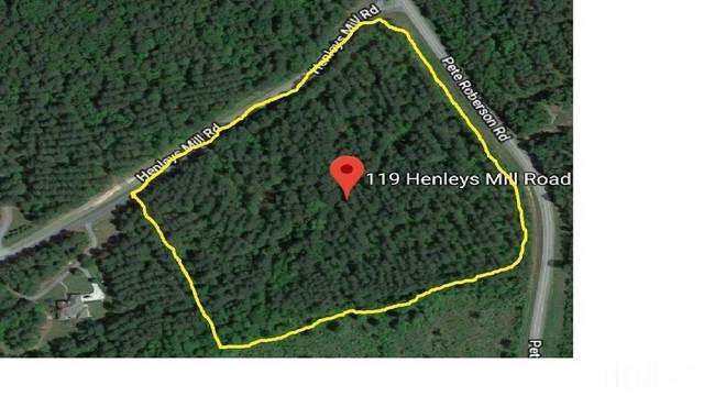 119 Henleys Mill Road, Pittsboro, NC 27312 (#2371977) :: Triangle Just Listed