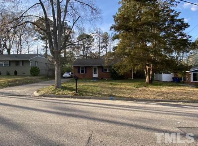 821 Bunche Drive, Raleigh, NC 27610 (#2376968) :: Kim Mann Team