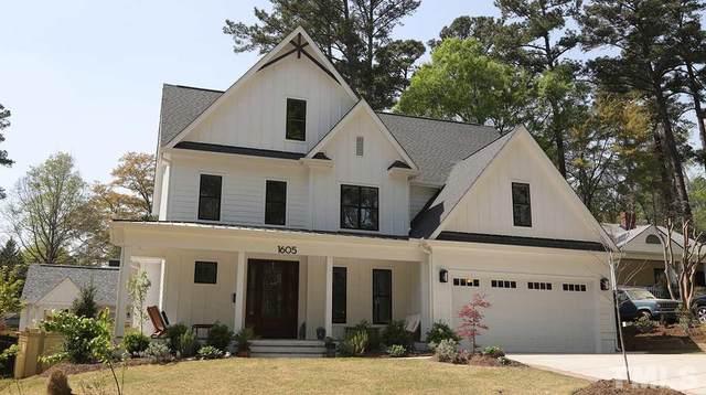 1605 Lorraine Road, Raleigh, NC 27607 (#2378585) :: Dogwood Properties