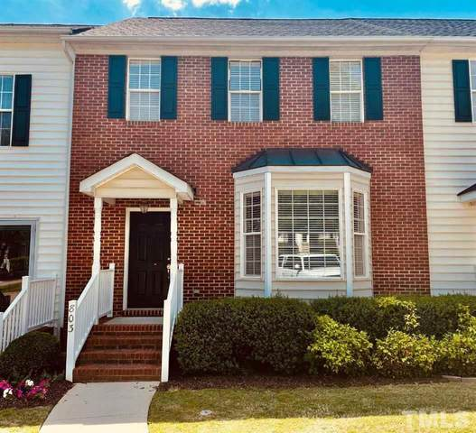 803 Knightsborough Way, Apex, NC 27502 (MLS #2380734) :: The Oceanaire Realty