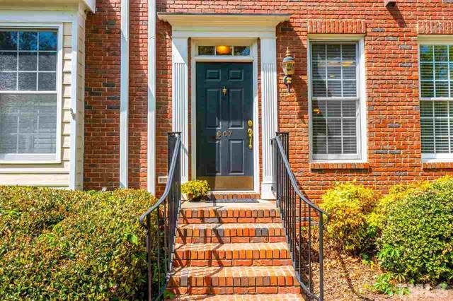 607 Copperline Drive #607, Chapel Hill, NC 27516 (#2380843) :: Dogwood Properties
