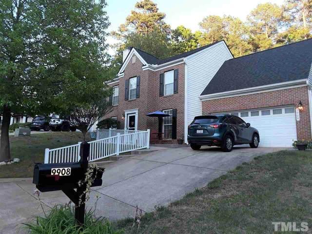 9908 Erinsbrook Drive, Raleigh, NC 27617 (#2381917) :: Kim Mann Team