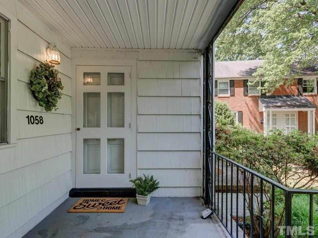 1058 Nichols Drive #5, Raleigh, NC 27605 (MLS #2381945) :: The Oceanaire Realty