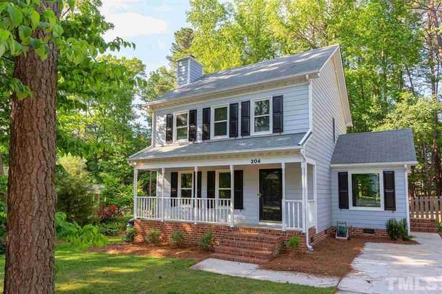 204 Pinewood Drive, Apex, NC 27502 (#2382336) :: Dogwood Properties