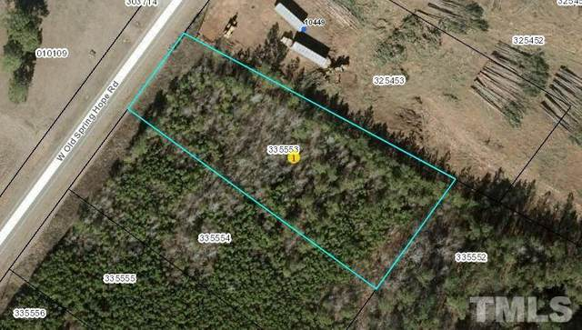 Lot 1 W Old Spring Hope Road, Spring Hope, NC 27882 (#2382663) :: Raleigh Cary Realty
