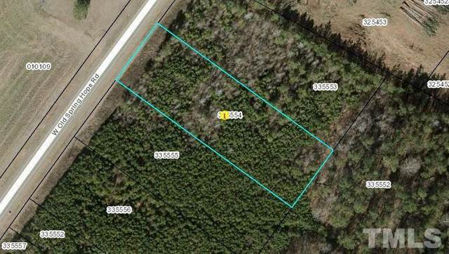 Lot 2 W Old Spring Hope Road, Spring Hope, NC 27882 (#2382665) :: Real Estate By Design
