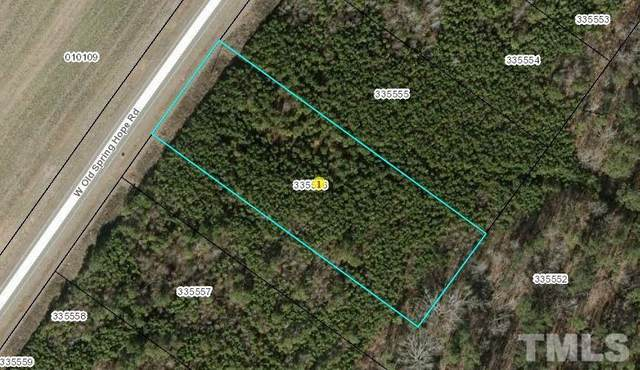 Lot 4 W Old Spring Hope Road, Spring Hope, NC 27882 (#2382672) :: Real Estate By Design