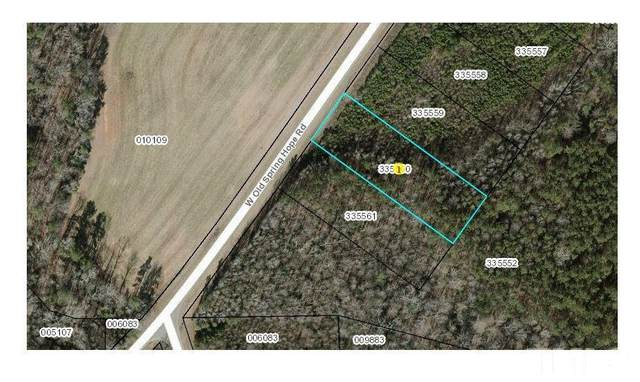 Lot 8 W Old Spring Hope Road, Spring Hope, NC 27882 (#2382674) :: Raleigh Cary Realty