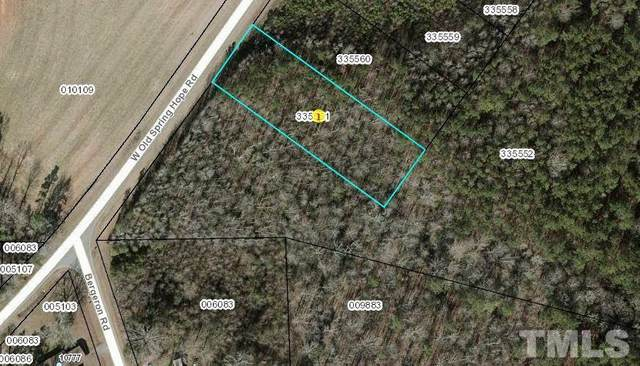 Lot 9 W Old Spring Hope Road, Spring Hope, NC 27882 (#2382678) :: Real Estate By Design