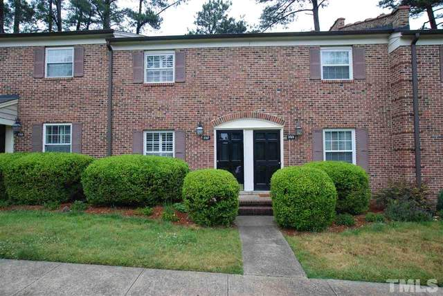 3747 Jamestown Circle #3747, Raleigh, NC 27609 (#2383154) :: Bright Ideas Realty