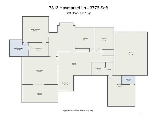 7313 Haymarket Lane, Raleigh, NC 27615 (#2383239) :: The Jim Allen Group