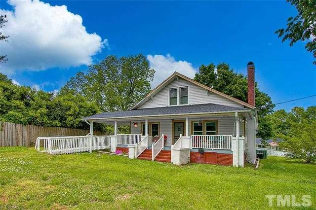 121 & 125 E Raleigh Avenue, Liberty, NC 27298 (#2383644) :: Raleigh Cary Realty
