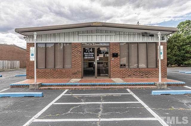 714 N Church Street, Rocky Mount, NC  (#2384528) :: Triangle Top Choice Realty, LLC