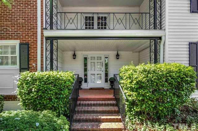 1007 Nichols Drive 3-6, Raleigh, NC 27605 (#2385956) :: The Blackwell Group