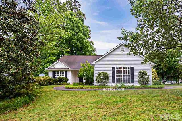 101 Lindell Drive, Apex, NC 27539 (MLS #2387066) :: The Oceanaire Realty