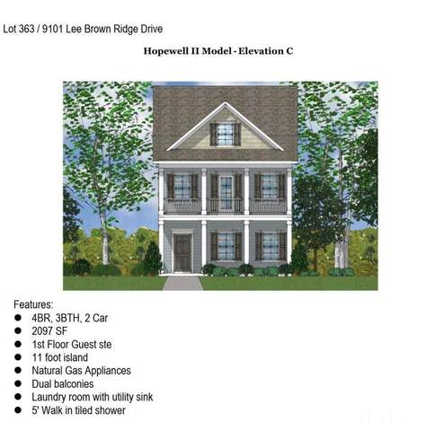 9101 Lee Brown Ridge Drive Lot 363, Wake Forest, NC 27587 (#2387416) :: Log Pond Realty
