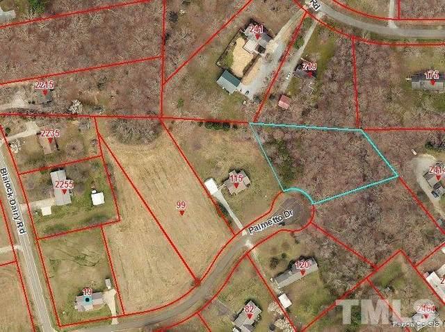 Lot 5 Palmetto Drive, Roxboro, NC 27574 (#2387619) :: Triangle Just Listed