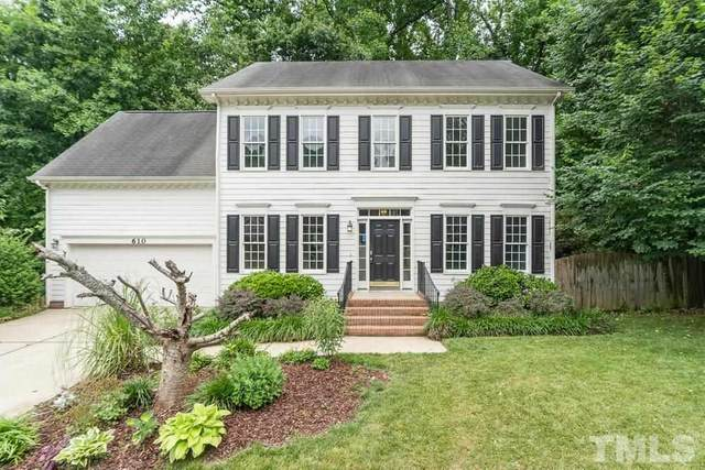 610 Van Thomas Drive, Raleigh, NC 27615 (#2387964) :: Triangle Just Listed
