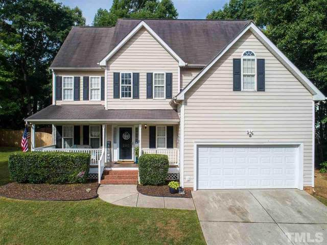 205 Oakhall Drive, Holly Springs, NC 27540 (#2388193) :: Log Pond Realty