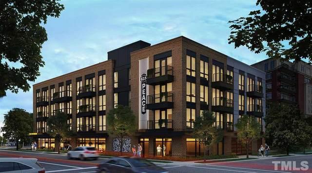 615 W Peace Street #307, Raleigh, NC 27605 (#2388973) :: Dogwood Properties