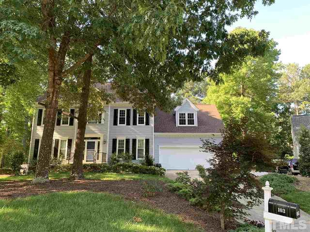 103 Thoresby Court, Cary, NC 27519 (MLS #2389586) :: The Oceanaire Realty