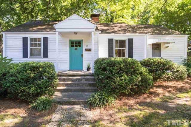 2813 Fowler Avenue, Raleigh, NC 27607 (#2390337) :: Log Pond Realty