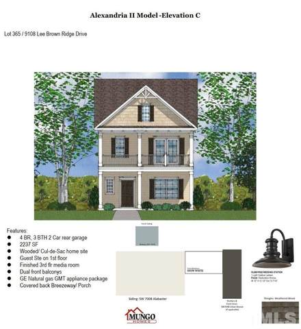 9108 Lee Brown Ridge Drive Lot 365, Wake Forest, NC 27587 (#2390786) :: Log Pond Realty