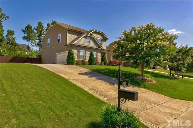 5204 Sapphire Springs Drive, Knightdale, NC 27545 (#2390954) :: Marti Hampton Team brokered by eXp Realty