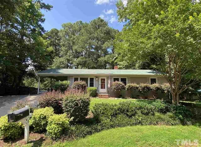 116 W Johnson Street, Cary, NC 27513 (#2391236) :: Dogwood Properties