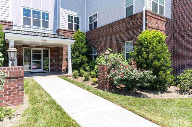 1013 Waterford Lake Drive #1013, Cary, NC 27519 (MLS #2391678) :: The Oceanaire Realty