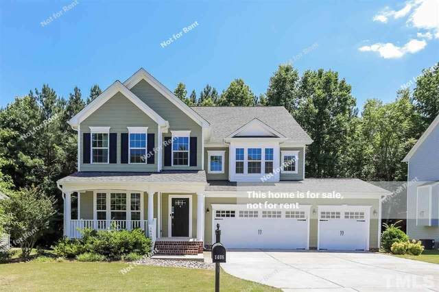 1408 Endgame Court, Wake Forest, NC 27587 (MLS #2391753) :: The Oceanaire Realty