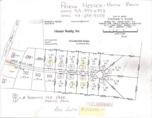 15 Annie Bell Lane, Roxboro, NC 27574 (#2392688) :: Marti Hampton Team brokered by eXp Realty