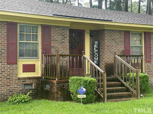 816 Russell, Rocky Mount, NC 27803 (#2397319) :: Raleigh Cary Realty