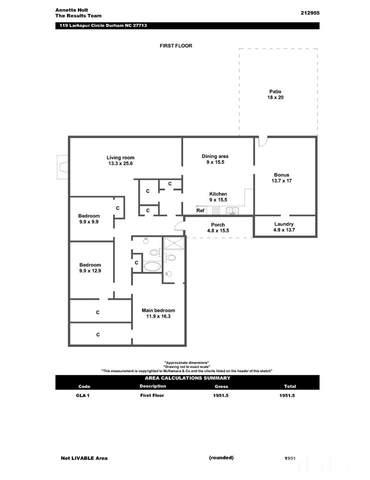 119 Larkspur Circle, Durham, NC 27713 (#2397508) :: The Beth Hines Team