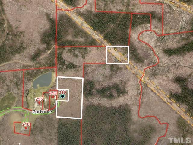 10 acres Carter Lane, Roxboro, NC 27574 (#2398806) :: Kim Mann Team