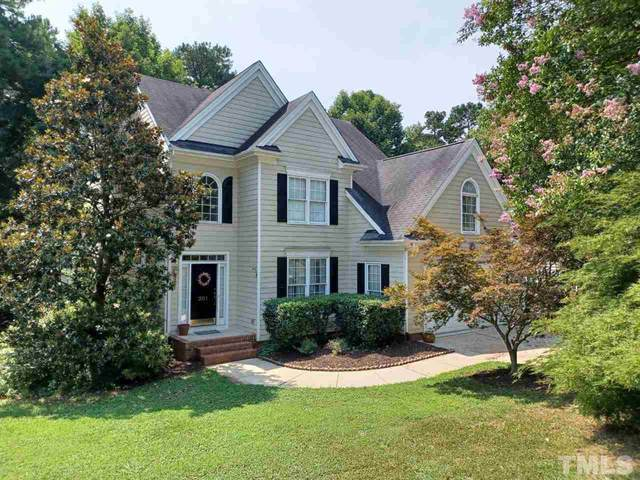 201 Rose Valley Woods Drive, Cary, NC 27513 (#2398895) :: The Jim Allen Group