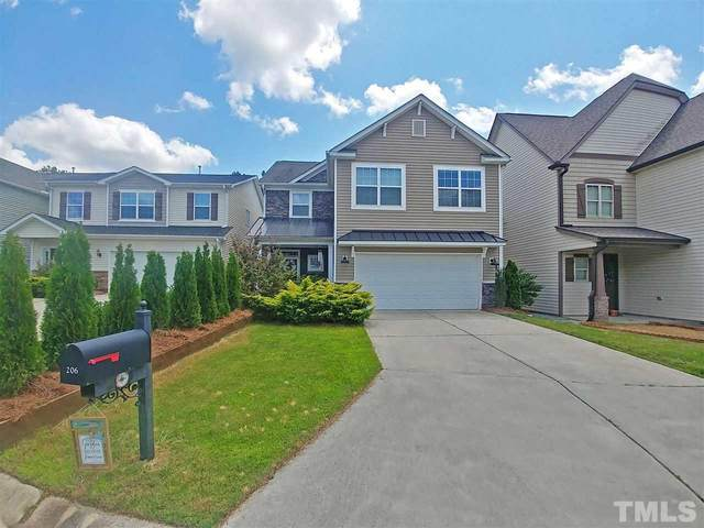 206 Station Drive, Morrisville, NC 27560 (#2399350) :: The Jim Allen Group
