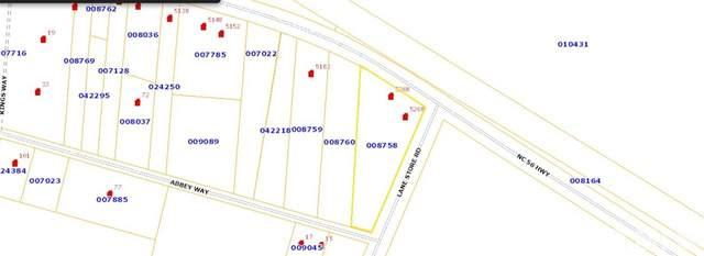 5208 Nc 56 Highway, Franklinton, NC 27525 (#2399351) :: The Jim Allen Group