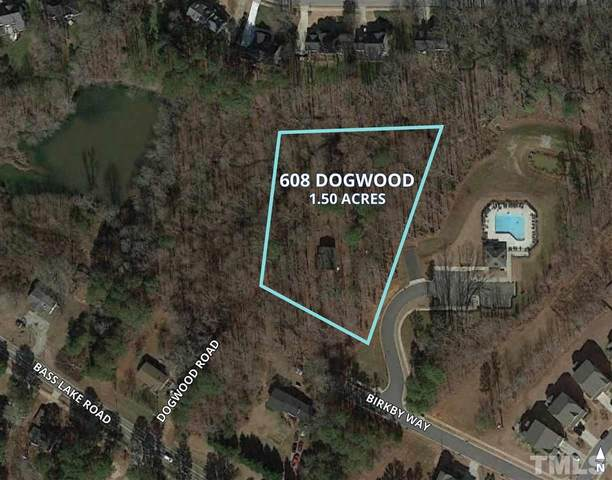 608 Dogwood Road, Holly Springs, NC 27540 (#2399582) :: M&J Realty Group