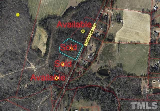 Lot 6 Lemon Springs Road, Sanford, NC 27332 (#2399858) :: Dogwood Properties