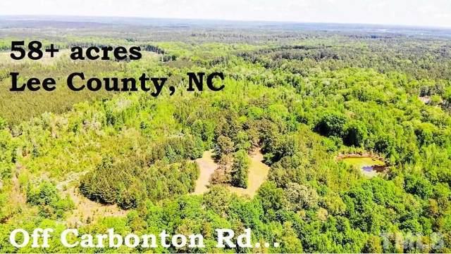 3868 Carbonton Road, Sanford, NC 27330 (#2401603) :: Scott Korbin Team