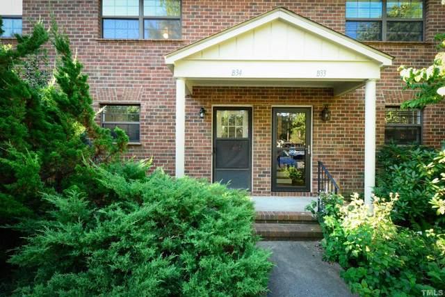 105 Fidelity Street #B34, Carrboro, NC 27510 (#2402707) :: Steve Gunter Team