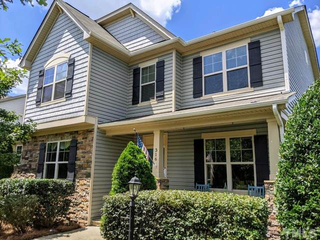 316 Austin View Boulevard, Wake Forest, NC 27587 (MLS #2402876) :: On Point Realty