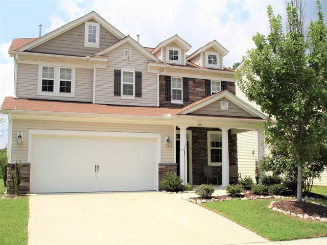 503 Emerald Downs Road, Cary, NC 27519 (#2405386) :: Raleigh Cary Realty