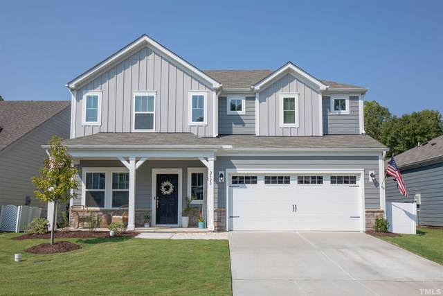 2520 Finkle Grant Drive, New Hill, NC 27562 (MLS #2407786) :: The Oceanaire Realty