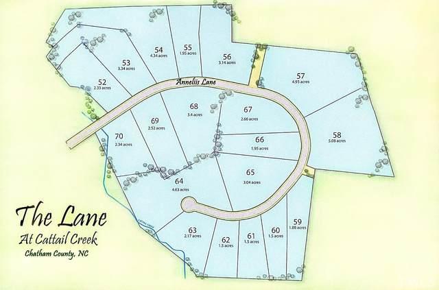 Lot 58 Anneliis Lane, Siler City, NC 27344 (#2408483) :: Log Pond Realty