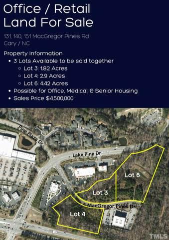 131,140, 151 Macgregor Pines Drive, Cary, NC 27511 (#2408925) :: Rachel Kendall Team
