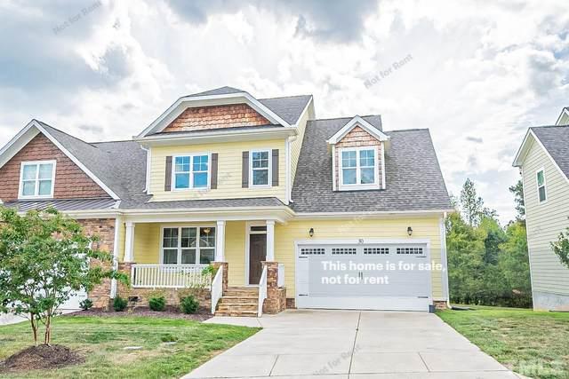 30 Grandwood Circle, Durham, NC 27712 (#2409150) :: Raleigh Cary Realty