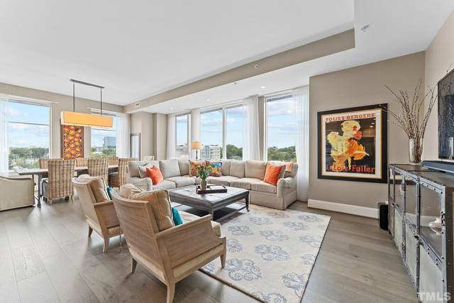 400 W North Street #806, Raleigh, NC 27603 (#2409334) :: The Blackwell Group