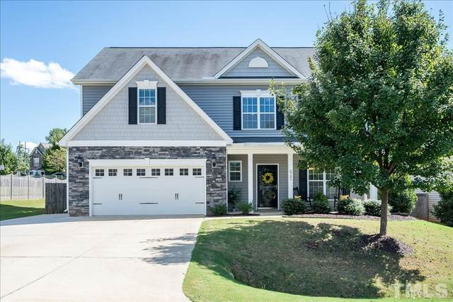 5721 Lumiere Street, Holly Springs, NC 27540 (MLS #2409936) :: The Oceanaire Realty